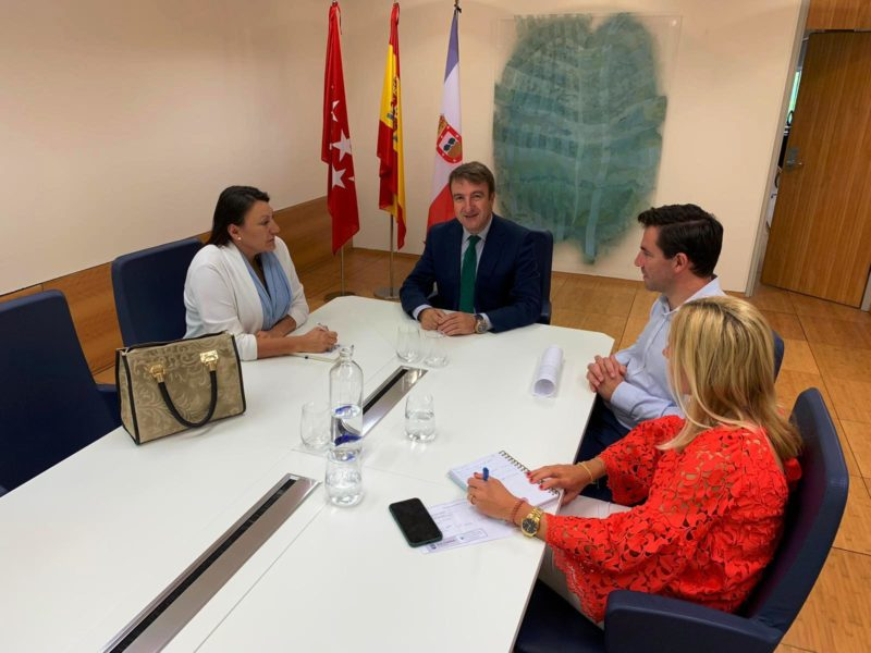 Reunión AETC / Ayuntamiento de Tres Cantos